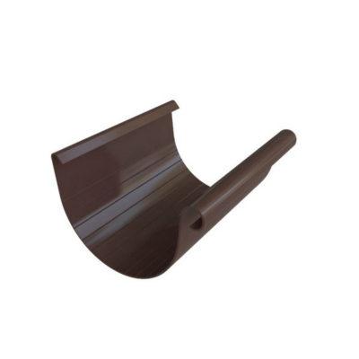 alta profil jelob vodostochny korich 400x400 - Водосток Альта-Профиль ПВХ – Желоб водосточный (коричневый, белый)