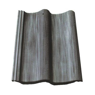 baltic tile cem pesochnaya cherepica sea wave special grey antik 400x400 - Цементно-песчаная черепица Baltic Tile, Sea Wave – Антик Серый (специальный цвет)