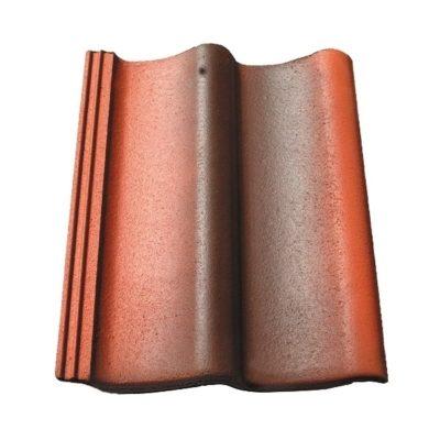 baltic tile cem pesochnaya cherepica sea wave special red antik 400x400 - Цементно-песчаная черепица Baltic Tile, Sea Wave - Антик (специальный цвет)
