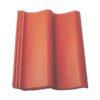 baltic tile cem pesochnaya cherepica sea wave standart brick red 100x100 - Композитная черепица Feroof, профиль Rio - Черный