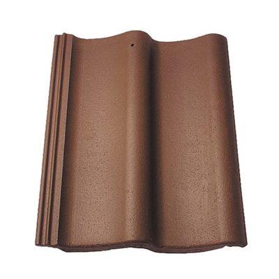 baltic tile cem pesochnaya cherepica sea wave standart brown 400x400 - Цементно-песчаная черепица Baltic Tile, Sea Wave – Коричневый (стандарт)