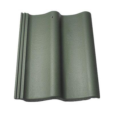 baltic tile cem pesochnaya cherepica sea wave standart green 400x400 - Цементно-песчаная черепица Baltic Tile, Sea Wave – Зеленый (специальный)
