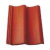 baltic tile cem pesochnaya cherepica sea wave standart red 100x100 - Композитная черепица Metrotile, коллекция MetroShake – Красно-черный