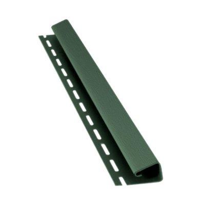 bryza sofit j planka zeleny 400x400 - Софит Bryza, J-профиль – Зелёный
