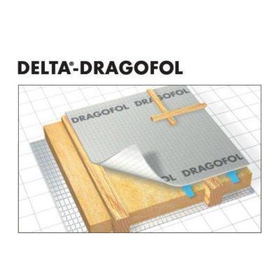 delta dragofol 400x400 - DRAGOFOL – Гидроизоляционная конвективная плёнка
