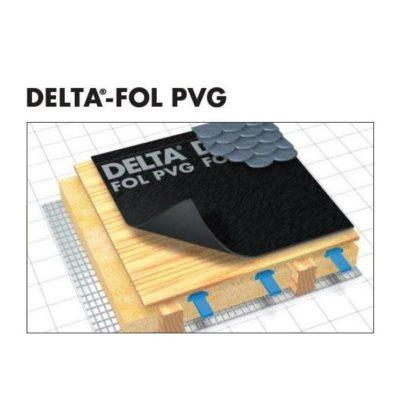 delta fol pvg 400x400 - DELTA-FOL PVG – Гидроизоляционная конвективная плёнка