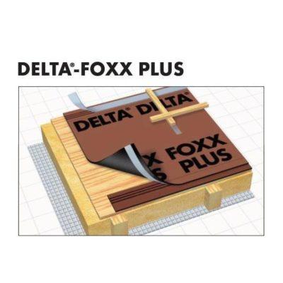 delta foxx plus 400x400 - DELTA-FOXX – Диффузионная мембрана для сплошного настила