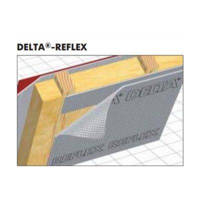 delta reflex 400x400 - DELTA-REFLEX – Пароизоляционная плёнка