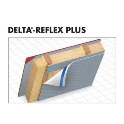 delta reflex plus 400x400 - DELTA-REFLEX PLUS – Пароизоляционная плёнка