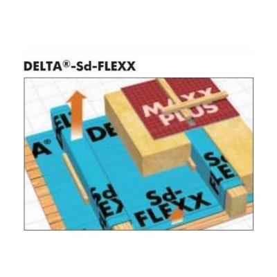 delta sd flexx 400x400 - DELTA-Sd-FLEXX 1.5x50 – Пароизоляционная плёнка