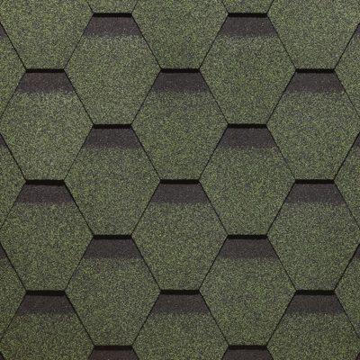 docke gibkaya cherepica sota zeleny 400x400 - Гибкая черепица Docke, коллекция Сота – Зеленый