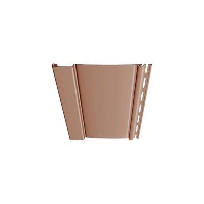 docke vertikalny s7 kapuchino 400x400 - Вертикальный сайдинг Docke, профиль S7 – Капучино