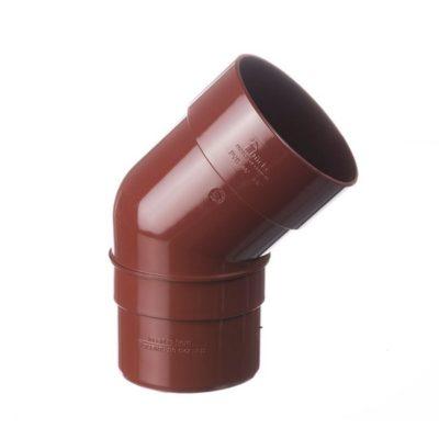 docke vodostok pvh koleno 45gr 400x400 - Döcke PREMIUM Колено 45˚ (Гранат)