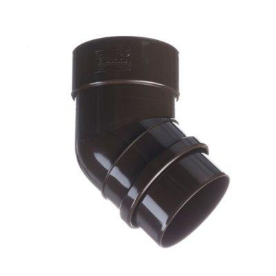docke vodostok pvh lux koleno truby 45 400x400 - Водосток ПВХ Docke LUX - Колено 45°