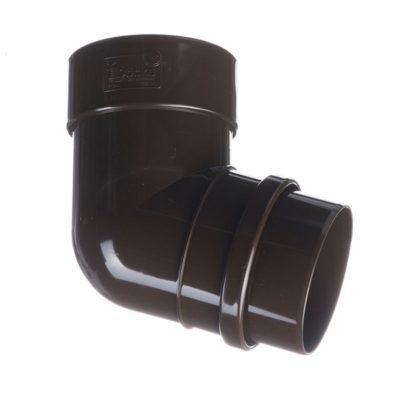 docke vodostok pvh lux koleno truby 72 400x400 - Водосток ПВХ Docke LUX - Колено 72°