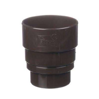 docke vodostok pvh lux perehodnik na standard 400x400 - Водосток ПВХ Docke LUX - Standart Переходник