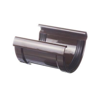 docke vodostok pvh lux soedinitel jeloba 400x400 - Водосток ПВХ Docke LUX - Соединитель желоба
