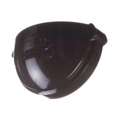 docke vodostok pvh lux zaglushka jeloba 400x400 - Водосток ПВХ Docke LUX - Заглушка желоба