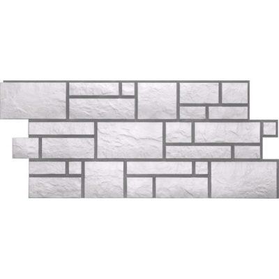 doke r wollenburg platinovui 400x400 - Фасадная панель Docke Burg (Натуральный камень) – Platinburg Платиновый