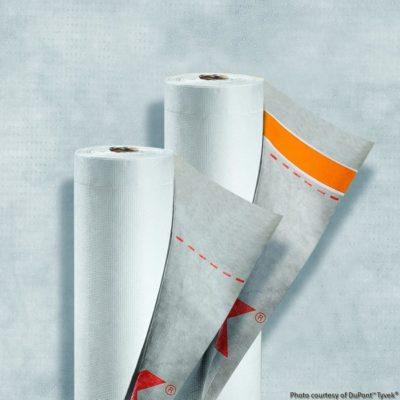 dupont tyvek supro tape 400x400 - Supro / Supro + - Мембрана кровельная с клеящим слоем
