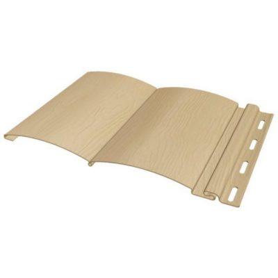fineber siding blockhouse sandal 400x400 - Виниловый сайдинг FineBer,  BlockHouse, Classic Color – Сандал