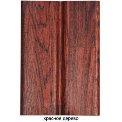 "gamrat sofit perforirovanny krasnoe derevo8 400x400 - Софит Gamrat, ""под дерево"", ½ перфорированный – Красное дерево"