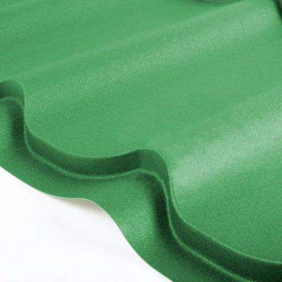 grand line metallocherepica drap 6005 zeleny moh 400x400 - Металлочерепица Grand Line, покрытие Drap 0.45мм – Зеленый мох 6005