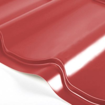 grand line metallocherepica optima 045 poliester 3003 krasny rubin 400x400 - Металлочерепица Grand Line, Optima 0.45мм, покрытие Полиэстер – Красный ин 3003