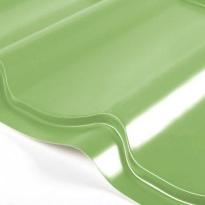 grand line metallocherepica optima 045 poliester 6019 nejno zeleny 400x400 - Металлочерепица Grand Line, Optima 0.45мм, покрытие Полиэстер – Нежно-зеленый 6019