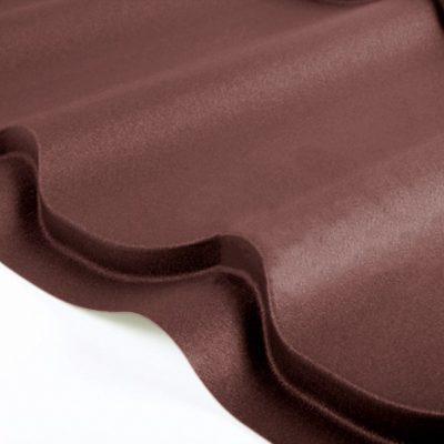 grand line metallocherepica polydexter 8017 shokolad 400x400 - Металлочерепица Grand Line, покрытие Polydexter 0.5мм – Шоколад 8017