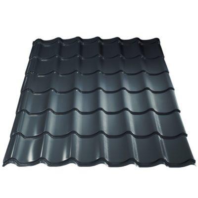 grand line metallocherepica purman 7024 mokry asfalt 400x400 - Металлочерепица Металл Профиль, покрытие Purman - 7024