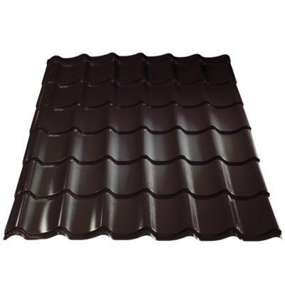grand line metallocherepica purman rr32 temno korichnevy 400x400 - Металлочерепица Металл Профиль, покрытие Purman – rr32