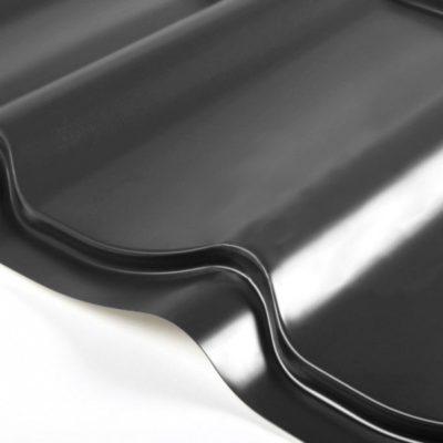 grand line metallocherepica quarzit lite 9005 cherny 400x400 - Металлочерепица Grand Line, покрытие Quarzit Lite 0.5мм – Черный 9005