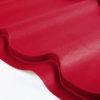 grand line metallocherepica velur 3005 krasnoe vino 100x100 - Металлочерепица Grand Line, покрытие Quarzit Lite 0.5мм – Зеленый мох 6005