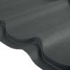 grand line metallocherepica velur 9005 cherny 100x100 - Металлочерепица Grand Line, покрытие Pural Matt 0.5мм – Терракота 8004