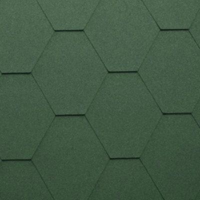 katepal gibkaya cherepica kl zeleny 400x400 - Гибкая черепица Katepal серия Classic KL – Зеленый