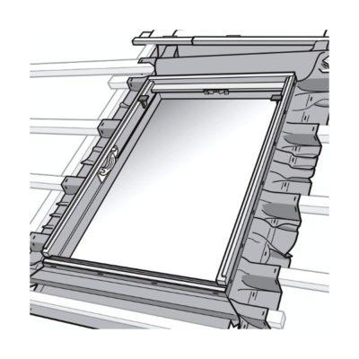 mansardnye okna velux bfx 1000 gidroizolyacia 400x400 - Гидроизоляция Velux BFX 1000