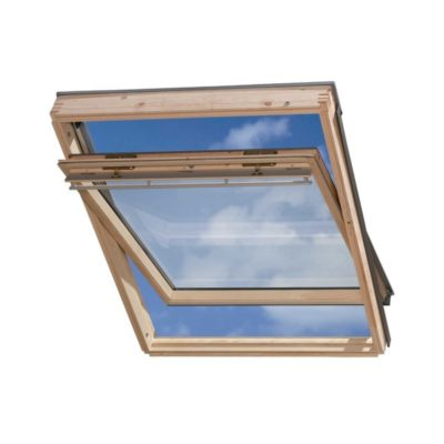 mansardnye okna velux ggl 3073 klassika 400x400 - Окно среднеповоротное Velux GGL 3073 - Классика