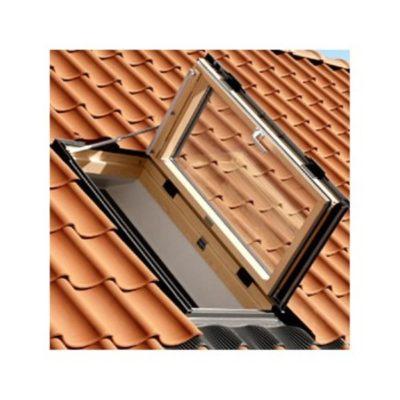 mansardnye okna velux gxl 3073 vyhod na kryshu 400x400 - Выход на крышу Velux GXL 3073