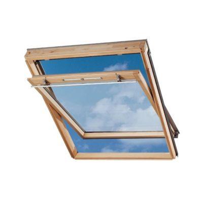 mansardnye okna velux gzl 1059 ekonom s verhnim otkrivaniem 400x400 - Окно среднеповоротное Velux GZL 1059 - Эконом, ручка сверху