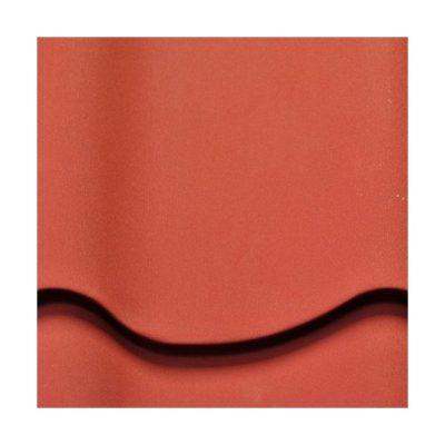 mera system matovy poliester pem anna krasny 400x400 - Металлочерепица Mera System, Матовый полиэстер PEM Anna – 418 Красный