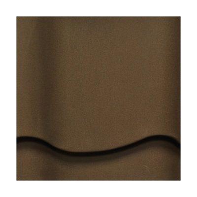 mera system matovy poliester pem eva korichnevy 400x400 - Металлочерепица Mera System, Матовый полиэстер PEM Eva – 384 Коричневый