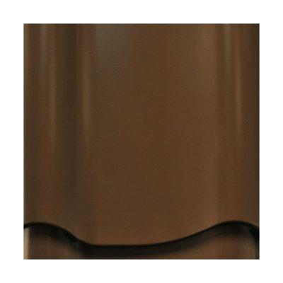 mera system pural pu anna korichnevy 400x400 - Металлочерепица Mera System, Prelaq Nova, профиль Anna – 384 Коричневый