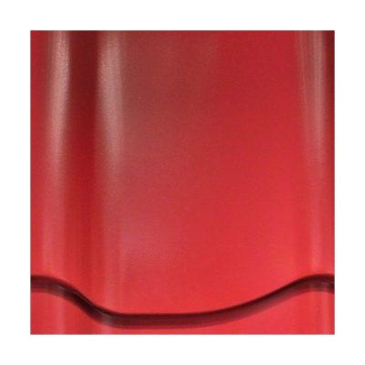 mera system pural pu anna krasny 400x400 - Металлочерепица Mera System, Prelaq Nova, профиль Anna – 418 Красный