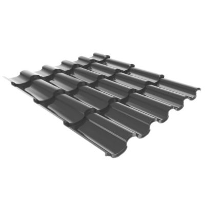 metallocherepica ruukki adamante pural matt temno sery rr23 400x400 - Металлочерепица Ruukki, Adamante Pural Matt — Темно-серый (RR 23)