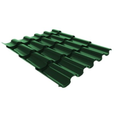 metallocherepica ruukki adamante pural matt temno zeleny rr11 400x400 - Металлочерепица Ruukki, Adamante Pural Matt — Темно-зеленый (RR 11)