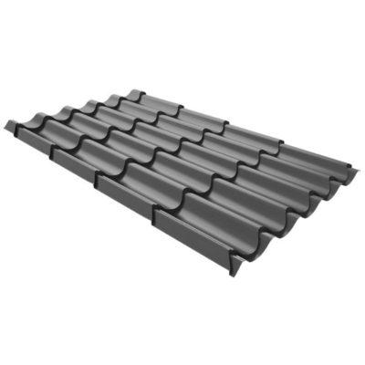 metallocherepica ruukki elite pural matt temno sery rr23 400x400 - Металлочерепица Ruukki, Elite Pural Matt — Темно-серый (RR 23)