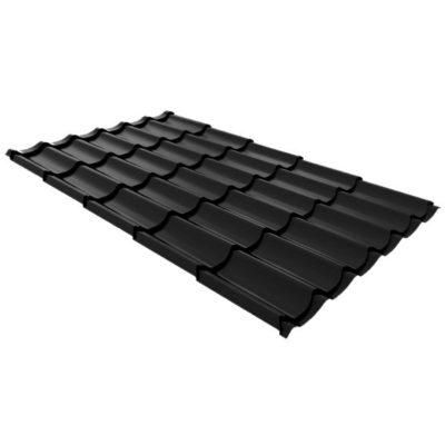 metallocherepica ruukki monterrey premium pural matt chorny rr33 400x400 - Металлочерепица Ruukki, Monterrey Premium Pural Matt — Черный (RR 33)