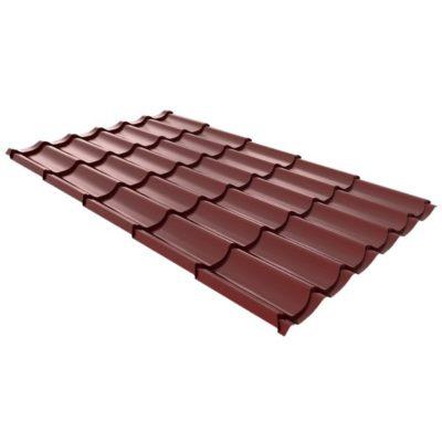 metallocherepica ruukki monterrey standard poliestr krasny rr29 400x400 - Металлочерепица Ruukki, Monterrey Standard Polyestr — Красный (RR 29)