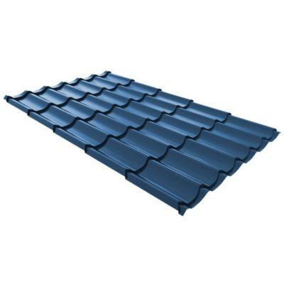 metallocherepica ruukki monterrey standard poliestr siniy rr37 400x400 - Металлочерепица Ruukki, Monterrey Standard Polyestr — Синий (RR 35)